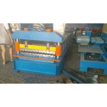 Máquinas de laminação de chapa de telhado de metal corrugado