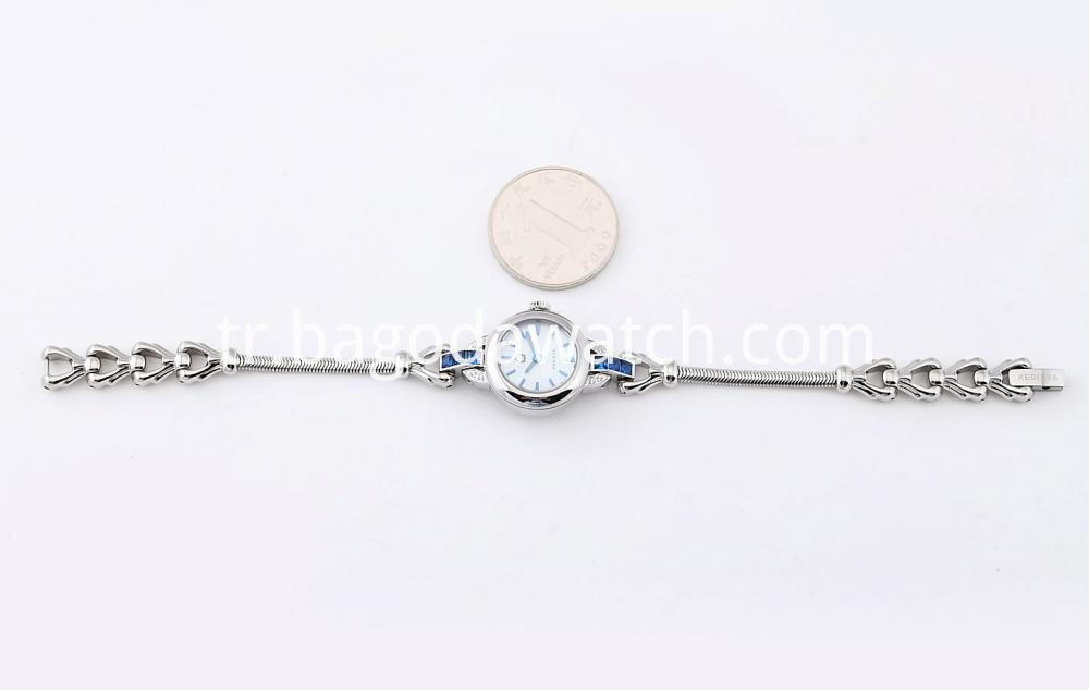 Coin Size Bracelet Watches