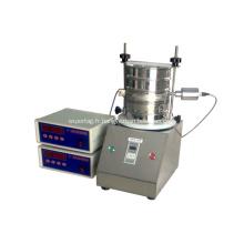 Tamis de test de vibration de laboratoire 200mm haute précision