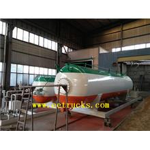 Stations de remplissage de cylindre de gaz de LPG de 20cbm 10T