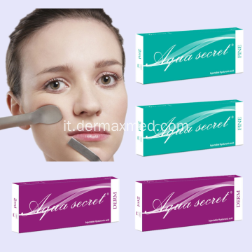 Filler dermico iniettabile antirughe rughe 2ml