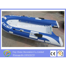 Proveedor de China de 3.9m Ce para lancha rápida de fibra de vidrio, bote de remos
