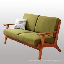 New Design Living Room Furniture Wood Sofa