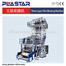 Máquina soplada de película de co-extrusión de tres capas de ABC