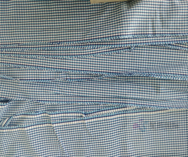 New Plain Woven 100% Cotton Striped Fabric3