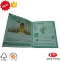 Custom printed leaflet flyer for product promotion