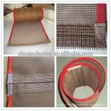 Tejido y correa de malla de fibra de vidrio PTFE (Teflon)