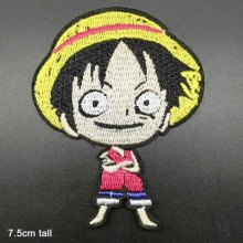 Anime Full woven label embroidery Clothes Patches