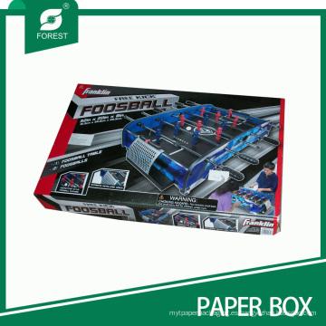 Caja de empaquetado de foosball corrugado completamente impreso