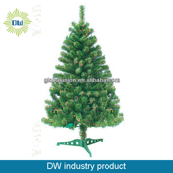 christmas decoration pvc christmas tree