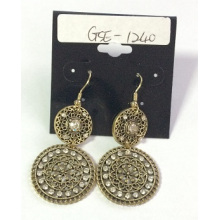Aaaa Lace Metal Earring for Wedding Beauty