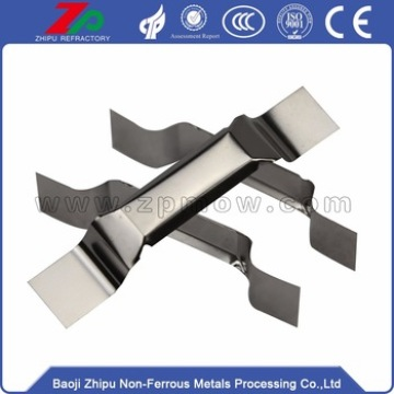 99.95% high quality tungsten boat for vacuum Coating
