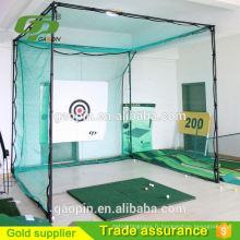 Vente chaude équipement de pratique de golf net et cage