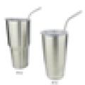 Decorated drinking straws