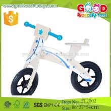ET2002 Bicicleta equilibrada de madera de la barra de la manija azul de la contrachapada de la alta calidad para la venta