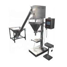 Semi automatic dry powder filler flour filling packaging machine