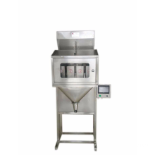 computerized tomato 1000g in different nuts bolt tow head granule automatic powder automatic weighting packing machine