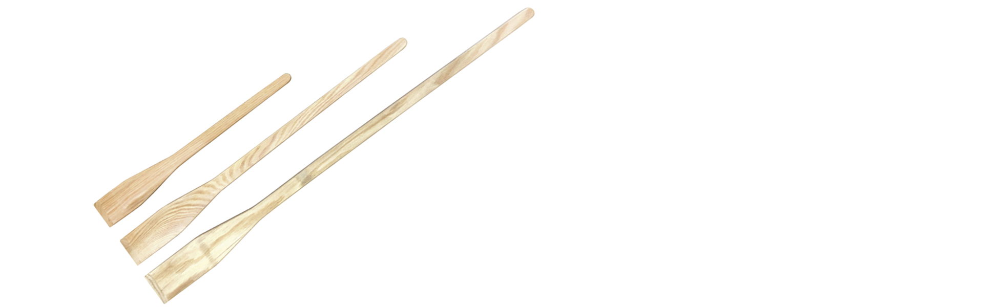 Wooden Mixing Paddle Set