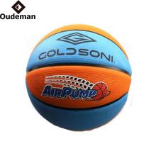 Guangzhou Oudeman YONO tamanho do escritório da marca 7 bola de basquete personalizado de borracha basquete atacado