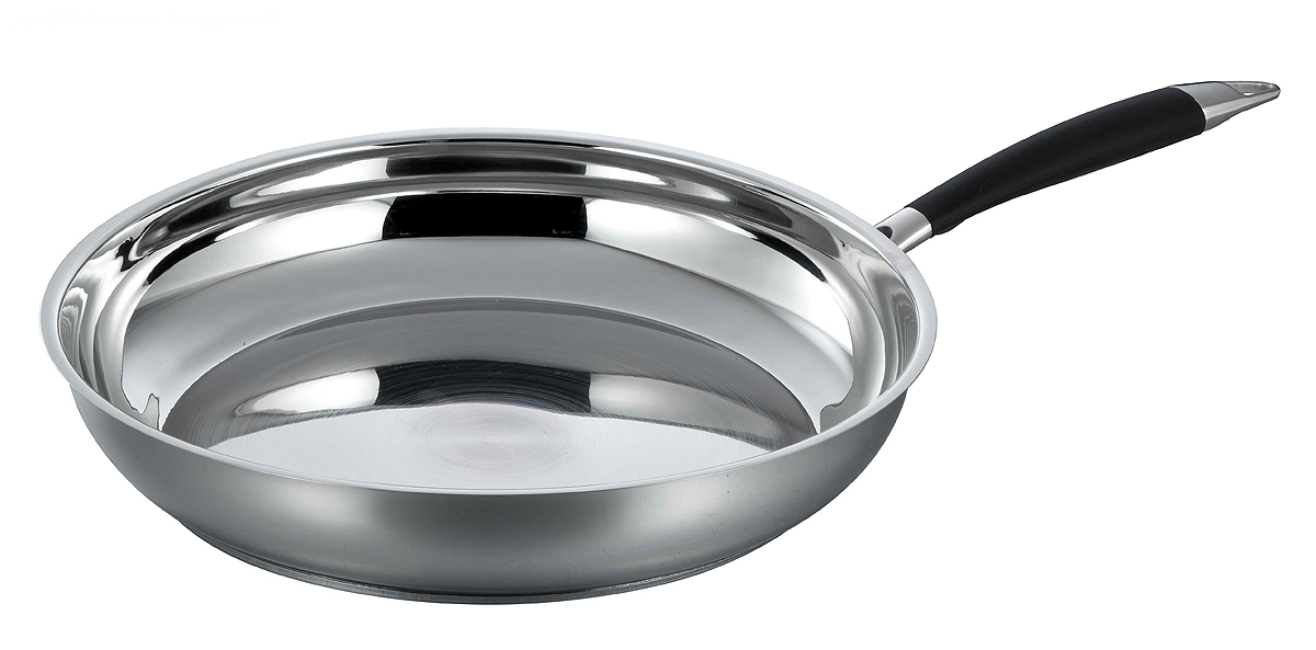 Frypan with casting handle