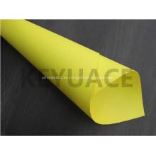 Paño de aislamiento de fibra de vidrio revestido de goma de silicona
