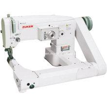 Máquina de costura Industrial Zuker Feed fora--braço Zig-Zag (ZK2156)