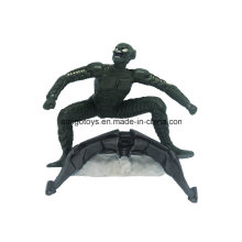 Kundenspezifisches Plastikspielzeug Figrues Karikatur-Modell-Charakter