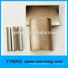 High coercive cheap strong arc segment neodymium ndfeb permanent DC motor magnet
