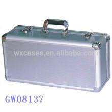 fuerte y portátil de aluminio maleta de metal fabricante