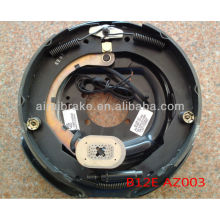 12 polegadas reboque elétrico freio placa traseira