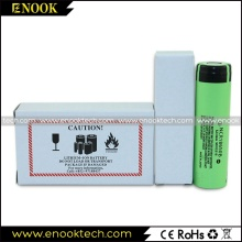 3.7V  Panasonic NCR18650B 3400mAh Rechargeable Battery