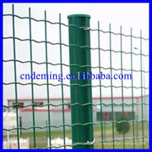 ISO 9001 galvanized welded euro wire mesh fence for sale