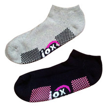 Männer Frauen Baumwolle Anti-Rutsch Sport Socken für Trampolin (als-08)