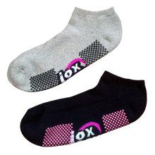 Men Women Cotton Anti-Slip Sports Socks for Trampoline (as-08)