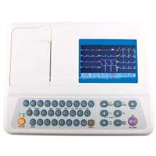 Eletrocardiógrafo médico portátil do canal ECG de Digitas 3
