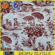 diseño floral de la lona del barco impermeabilizante de tela de tapicería