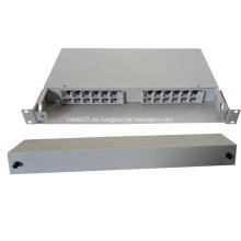 24 Fibras Cables de Tipo Fijo Caja de Distribución Óptica