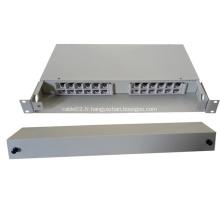 24 Fibres Câbles de type fixe Boîtier de distribution optique