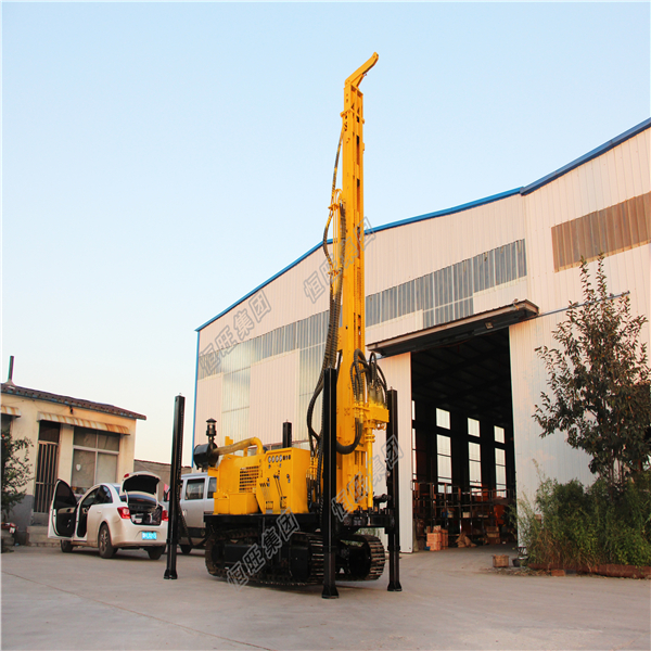 large hole diameter water well drilling rig