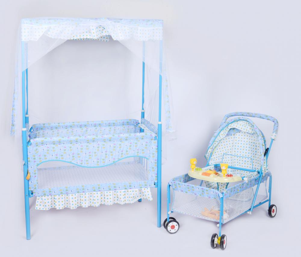 Baby Bed with Stroller
