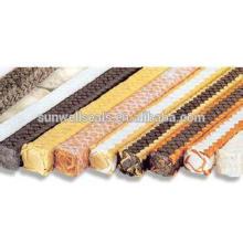 Embalagem de fibra carbonizada