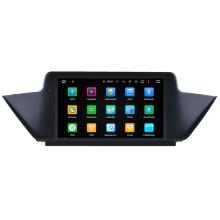 Hualingna 2 DIN HD pantalla táctil GPS OEM coche DVD GPS para BMW E84 X1 Navegación