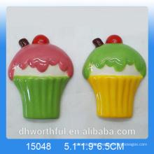Ímã especial do refrigerador do cerco do presente com figurine do icecream