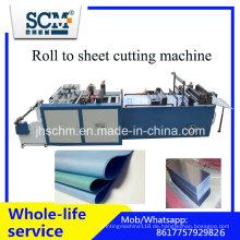 Fabric Cutter Machine, Kunststoff Roll zu Blatt Schneidemaschine