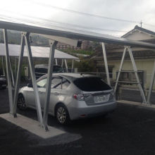 Aluminum Carport with Solar Panel, Quick Installation, Professional Design and Safety Guarantee