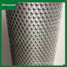 stretched metal mesh /diamond aluminum expanded metal mesh machine/industry