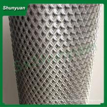 Metal esticado malha / diamante alumínio expandido metal malha máquina / indústria