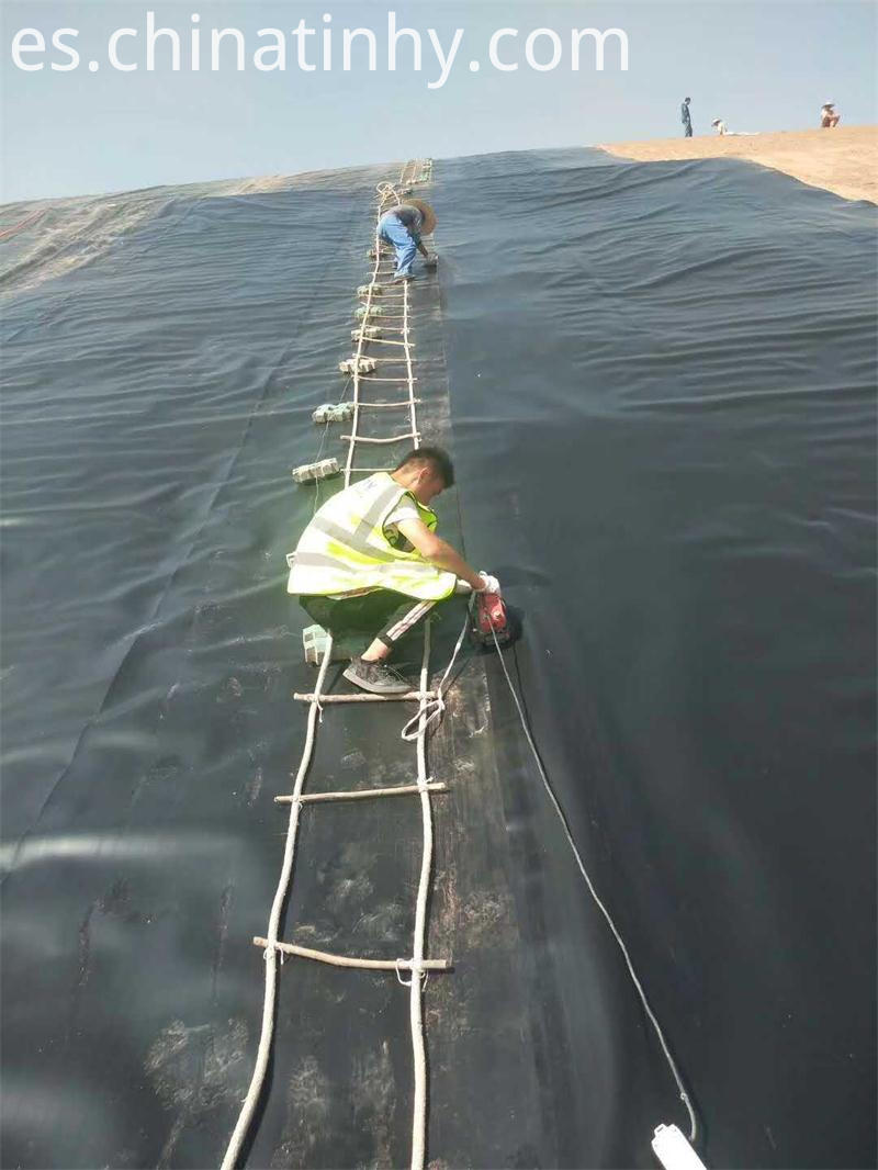 500 Microns Hdpe Geomembranes project