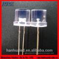 3pins 3mm 5mm rond bi-couleur 5mm plat conduit diode fournisseur