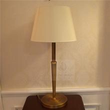 Lámparas de hierro de sombra de tela (82156-1T)